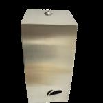 Porta papel higienico cai cai Biovisium inox escovado linha