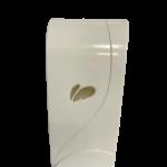 Saboneteira 800 ml com reservatorio Biovisium AG+ branca