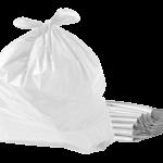 Saco de lixo branco