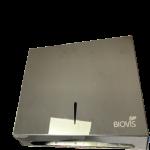 Toalheiro inox preto Titanium Biovisium