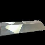 Toalheiro inox preto Titanium Biovisium em cima