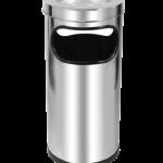 CinzeiroLixeiro inox alto 24×50 cm C2 JSN