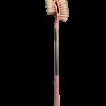 Escova multi uso ccabo inox longo Plasvale rosa 1531