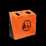 Lixeira esmaltada p descarte pilha e bateria 30x32x14 M5 JSN