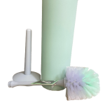 Pincel sanitario csuporte cc inox 1508 Plasvale verde desmont