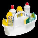 Porta produtos de limpeza plastico oval Sanremo